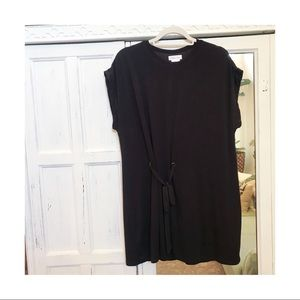 Lovers + friends black tie front tunic dress